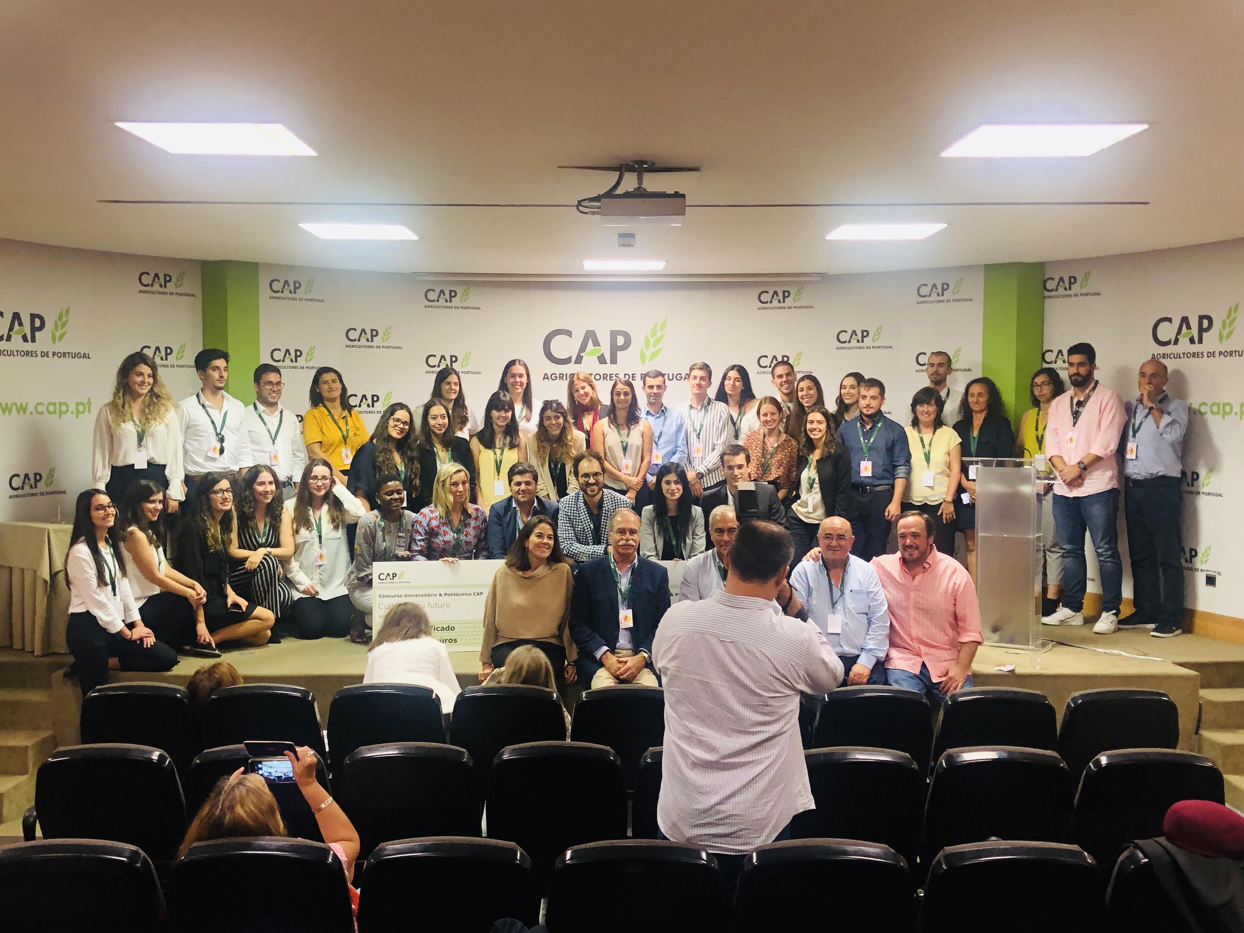 Participantes do 8.º Cultiva o teu Futuro